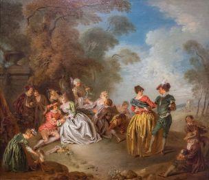 Pater A01b vers 1728 Le Repos dans le parc Frick Museum