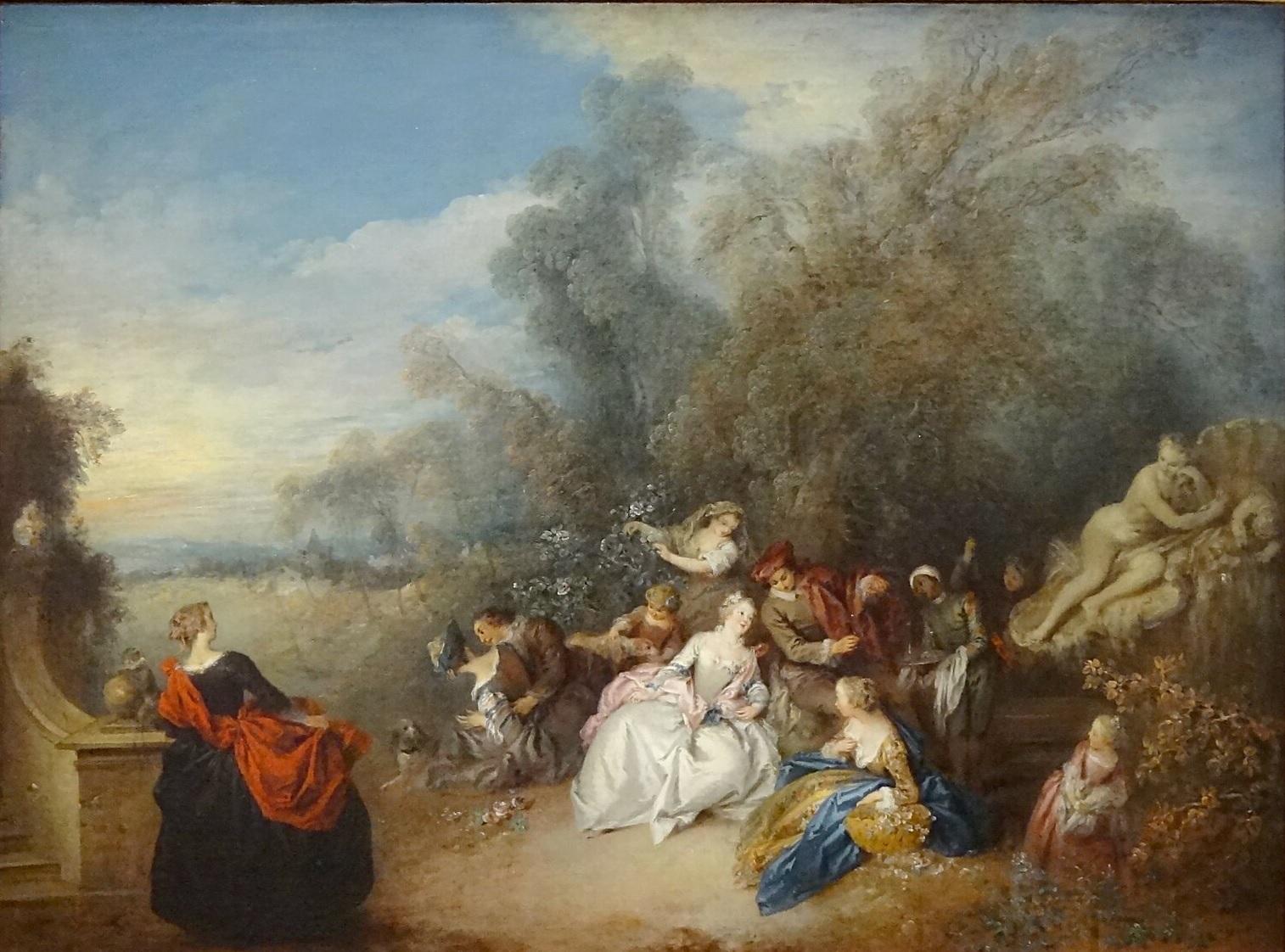 Pater A08a 1720-36 Les delassements de la campagne Musee des BA Valenciennes phto Gregory Lejeune