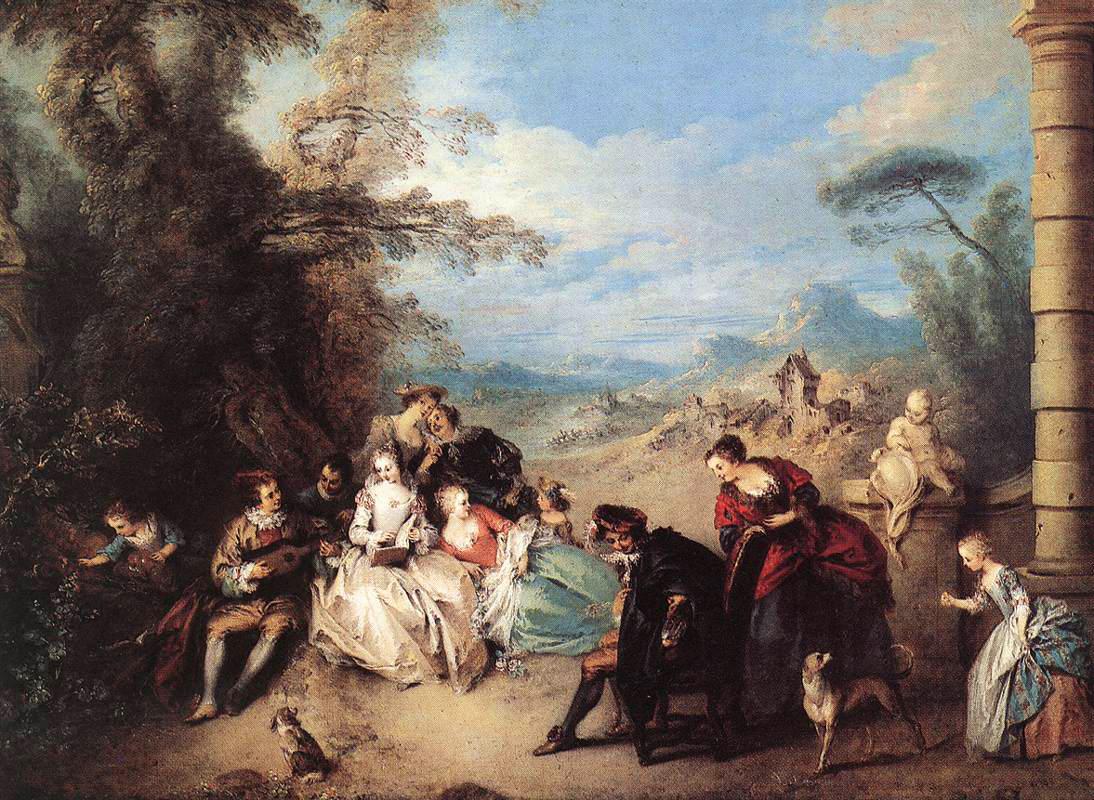 Pater A08b 1720-36 Le concert champetre Musee des BA Valenciennes