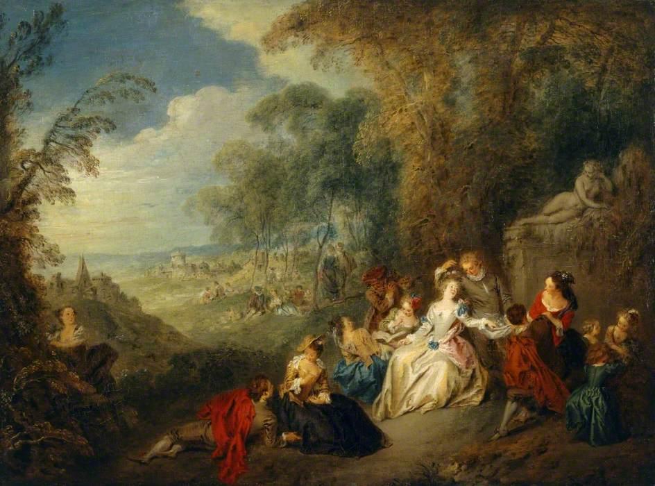 Pater, Jean-Baptiste, 1695-1736; Fete Galante