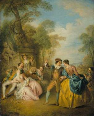 Pater, Jean-Baptiste, 1695-1736; The Dance