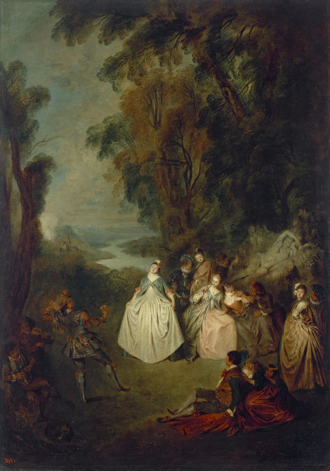 Pater A36c Dance under the Trees Ermitage