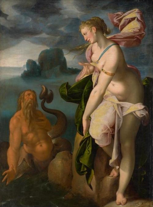 Spranger 1580-82 Glaucus et Scylla Kusthistorisches Museum Wien