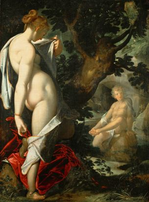 Spranger 1580-82 Hermaphroditos_and_Salmacis Kusthistorisches Museum Wien