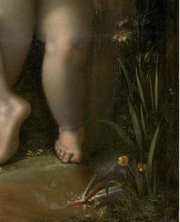 Spranger 1585 ca Venus et Mercure Kusthistorisches Museum Wien detail