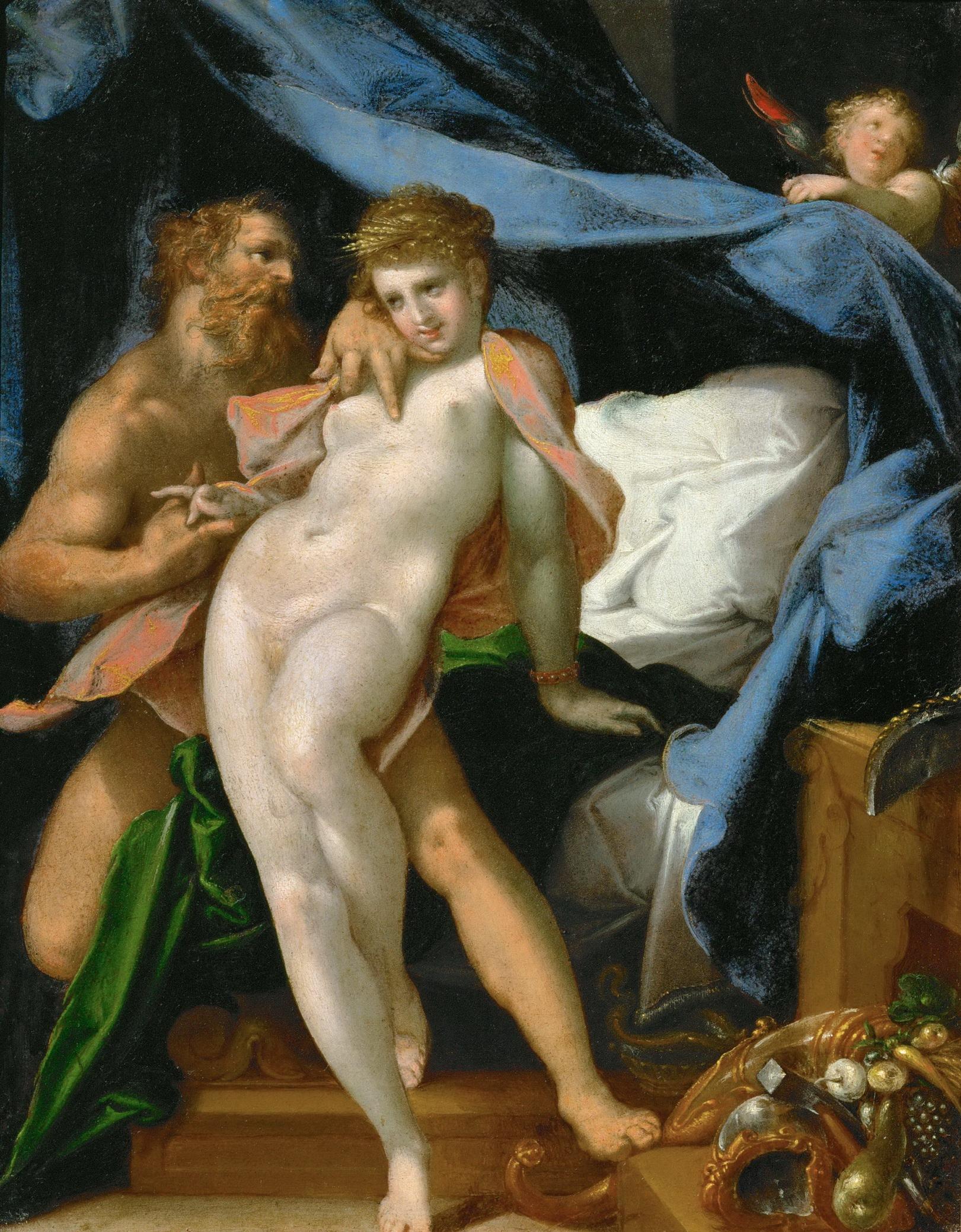 Spranger 1585 ca Vulcain et Maia Kusthistorisches Museum Wien