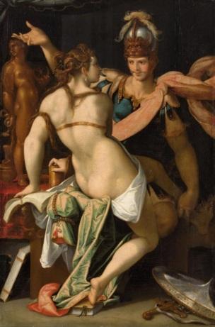 Spranger 1586-87 Ulysse quittant Circe Kusthistorisches Museum Wien