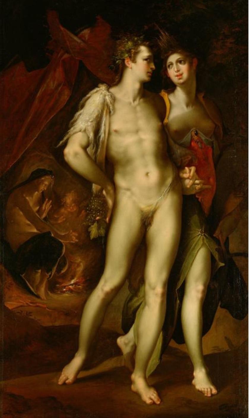 Spranger 1590 ca Sine Cerere et Baccho friget Venus Kusthistorisches Museum Wien