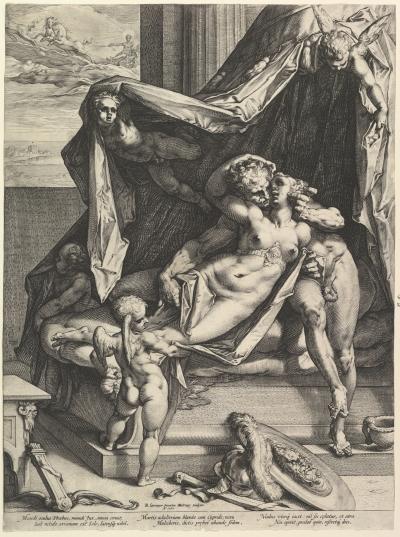 Spranger Golzius 1588 Mars Venus