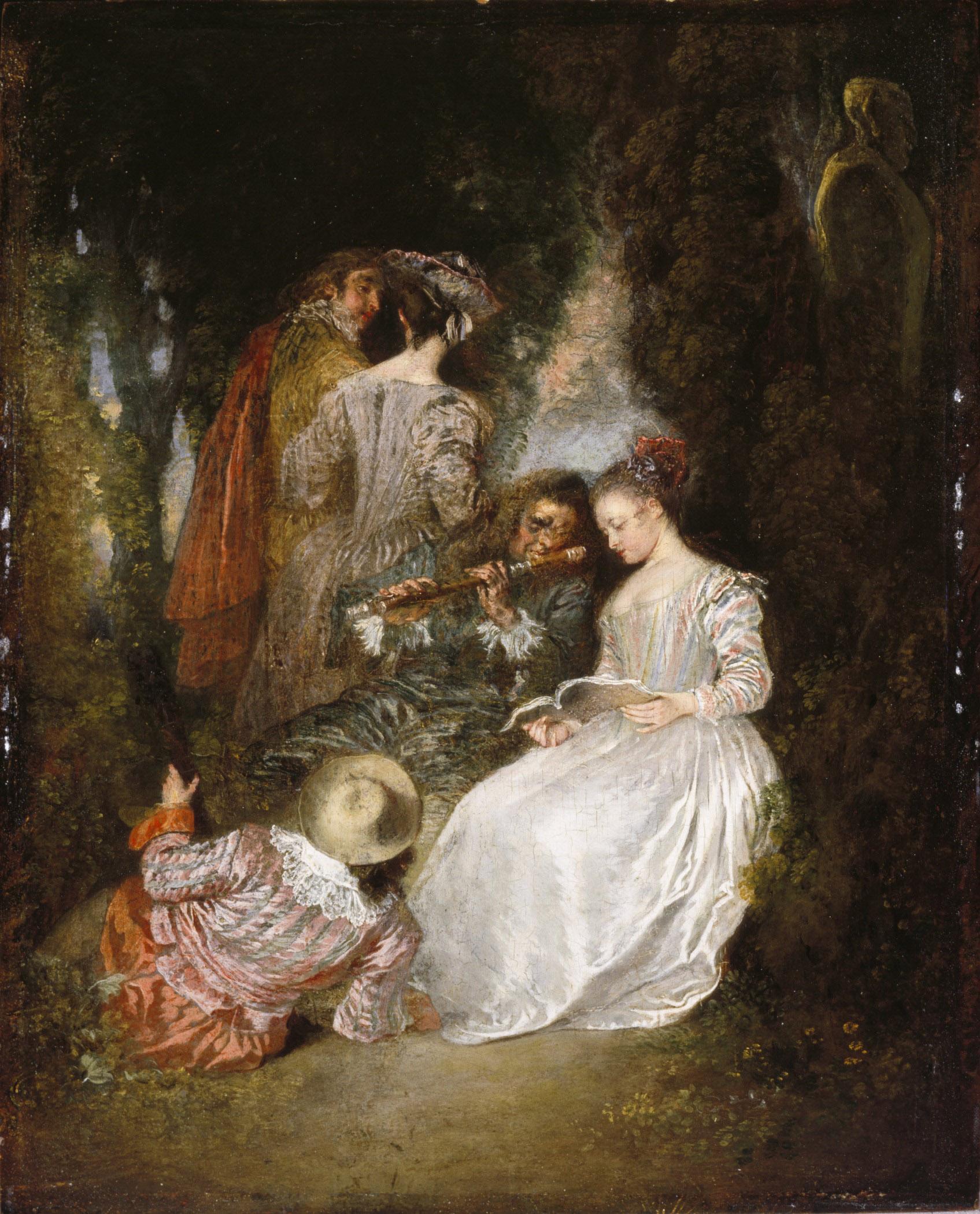 Watteau-1718-L-accord-parfait-Los-Angeles-California-Los-Angeles-County-Museum-of-Art