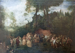Watteau B accordee de village London, Sir John Soane's Museum