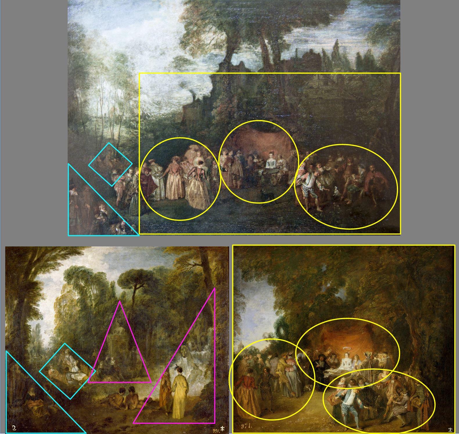Watteau Contrat de mariage