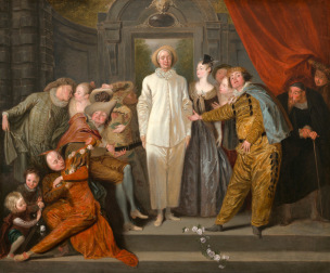 Watteau-Les-comediens-it-Washington-National-Gallery-of-Art