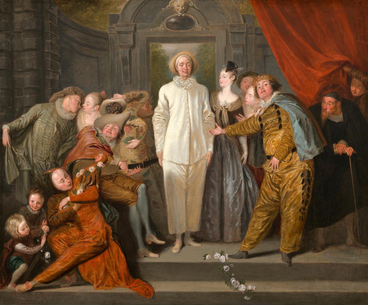 Watteau-Les-comediens-it-Washington-National-Gallery-of-Art