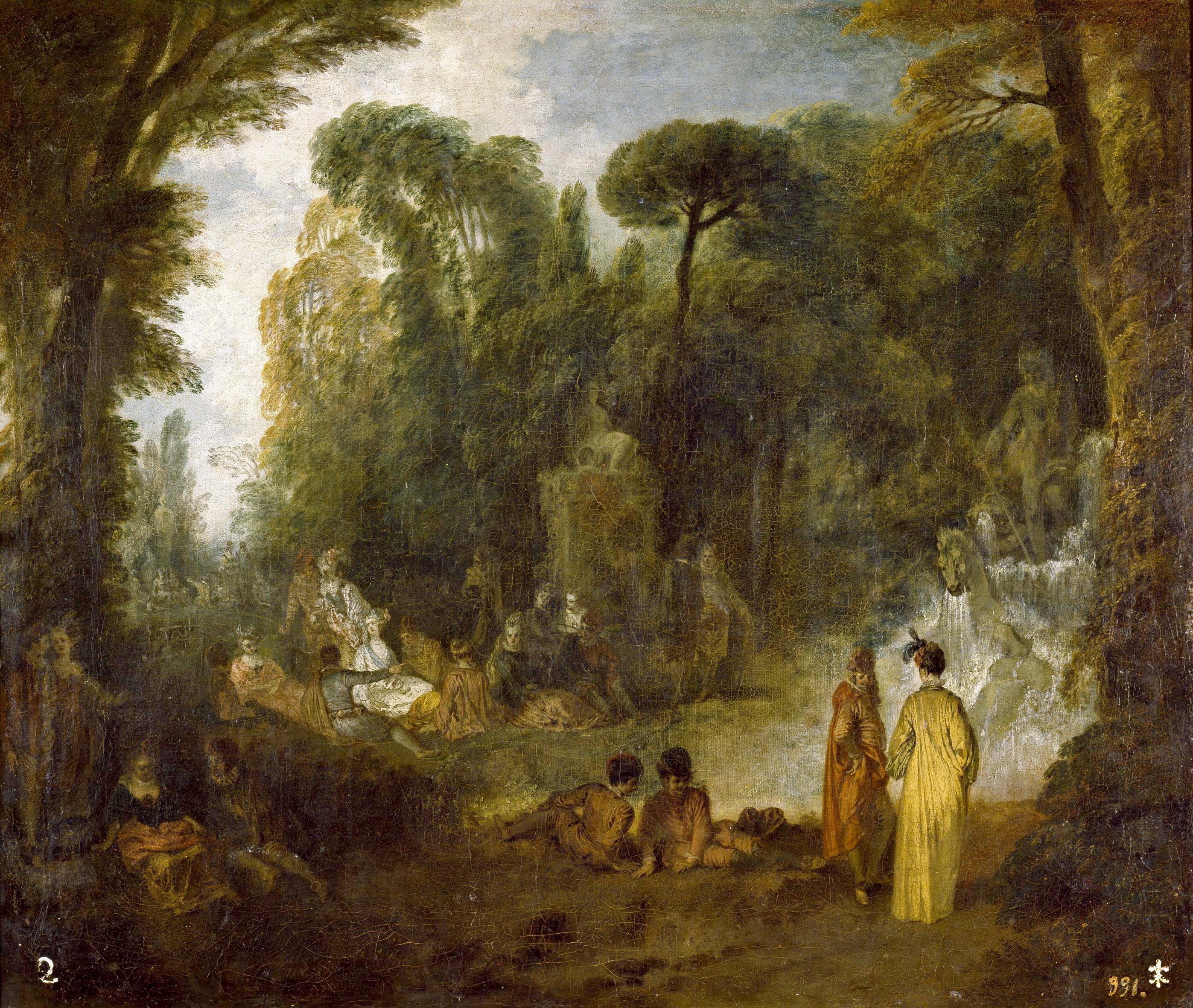 Watteau prado assemblee neptune