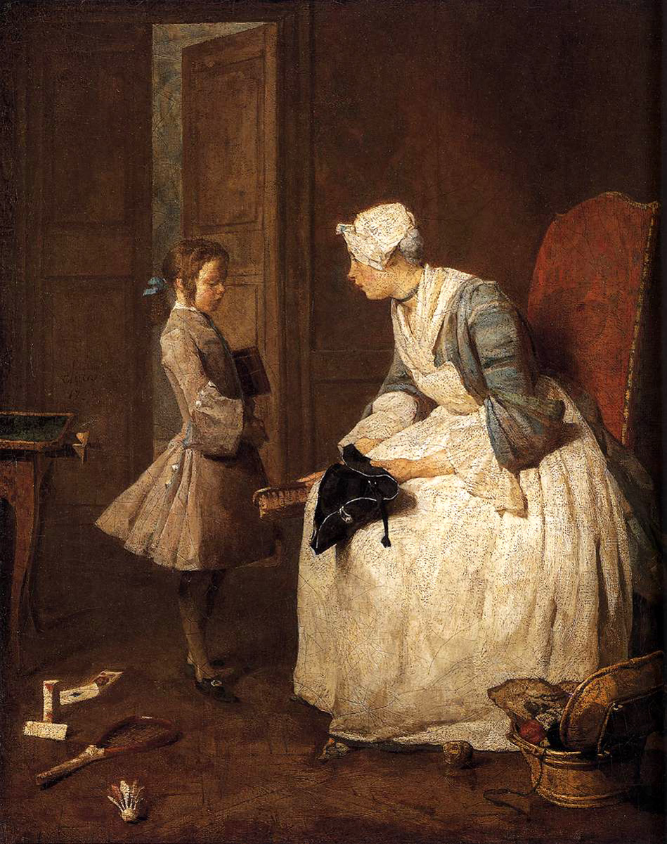 Chardin, La Gouvernante (Governess) 1738.jpg