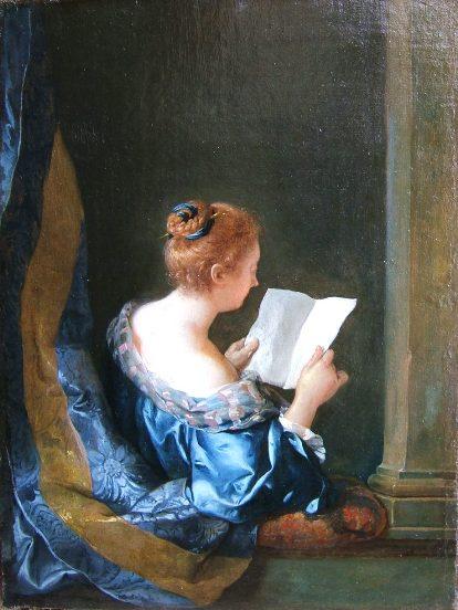 de Troy 1723, La Liseuse Gemaldegalerie Berlin