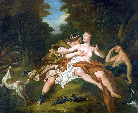 de Troy 1725 ca Jupiter et Callisto Charlottenburg