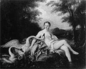 de Troy 1725 ca Leda et le Cygne Charlottenburg