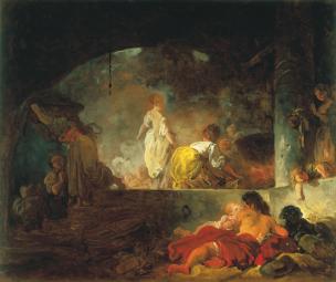 fragonard Les blanchisseuses (La lessive) 1756-61 Saint Louis Art Museum