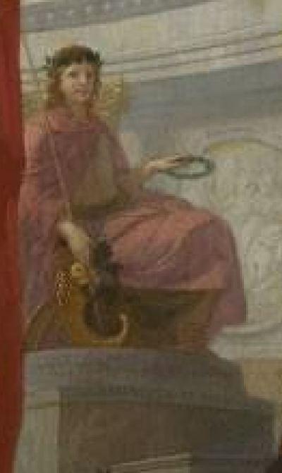 lairesse 1655-68 der-tempel-der-ehre1 alte pinakothek Munich detail E
