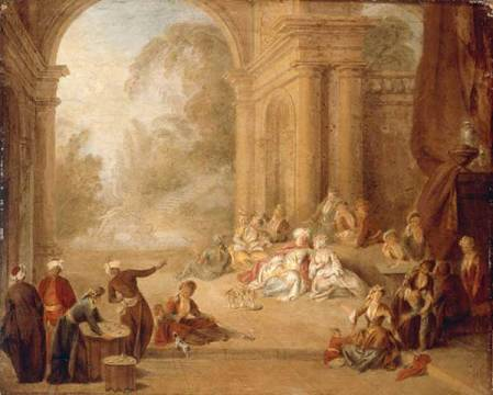 pater A20a le sultan au jardin Potsdam, Sanssouci