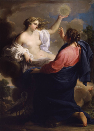 Batoni Pompeo 1745 ca _Truth_and_MercyMontreal Museum of Fine Arts