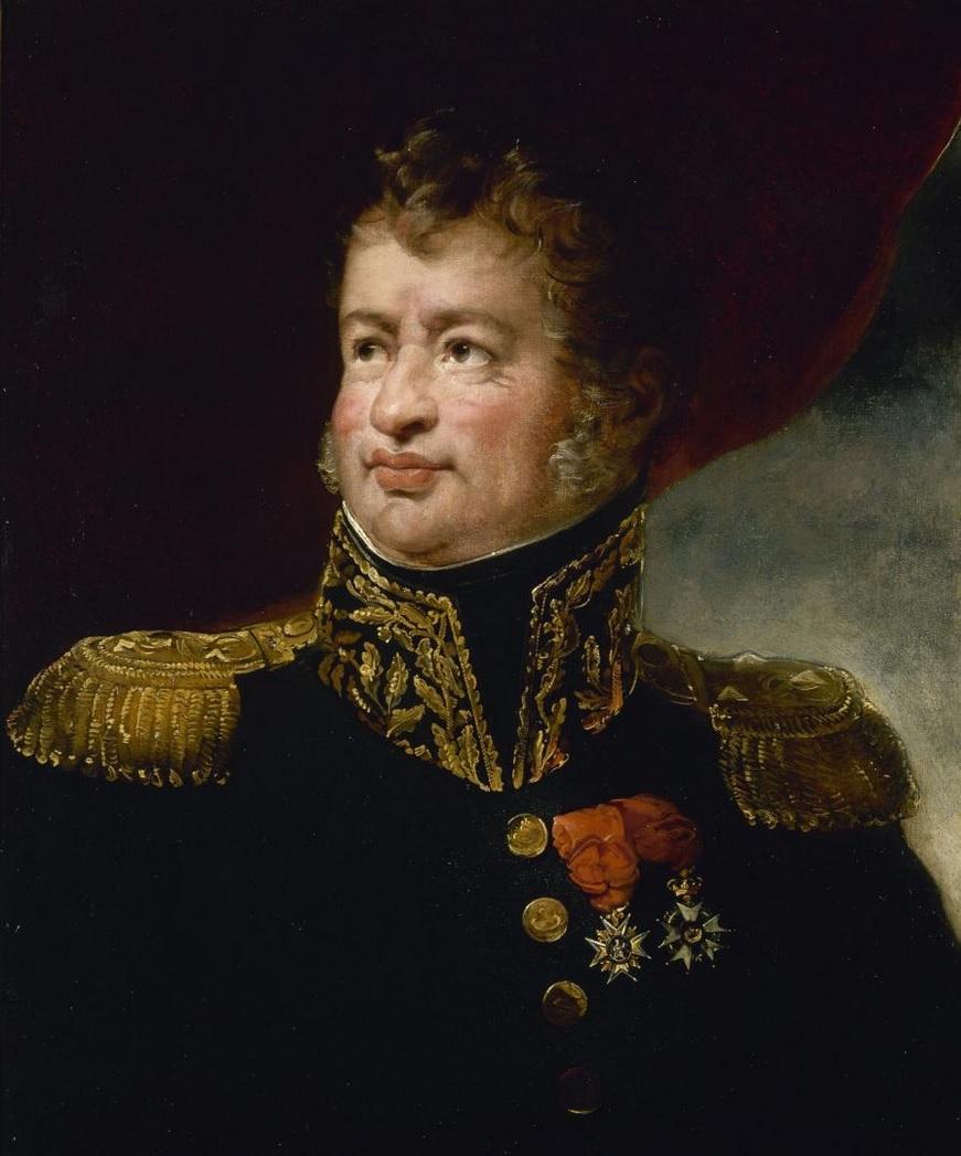 Le general Leopold HUgo 1826 Julie Duvidal Musee du chateau de versailles