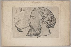 Leopold Armand Hugo Autoportrait a la pipe Musee Rodin