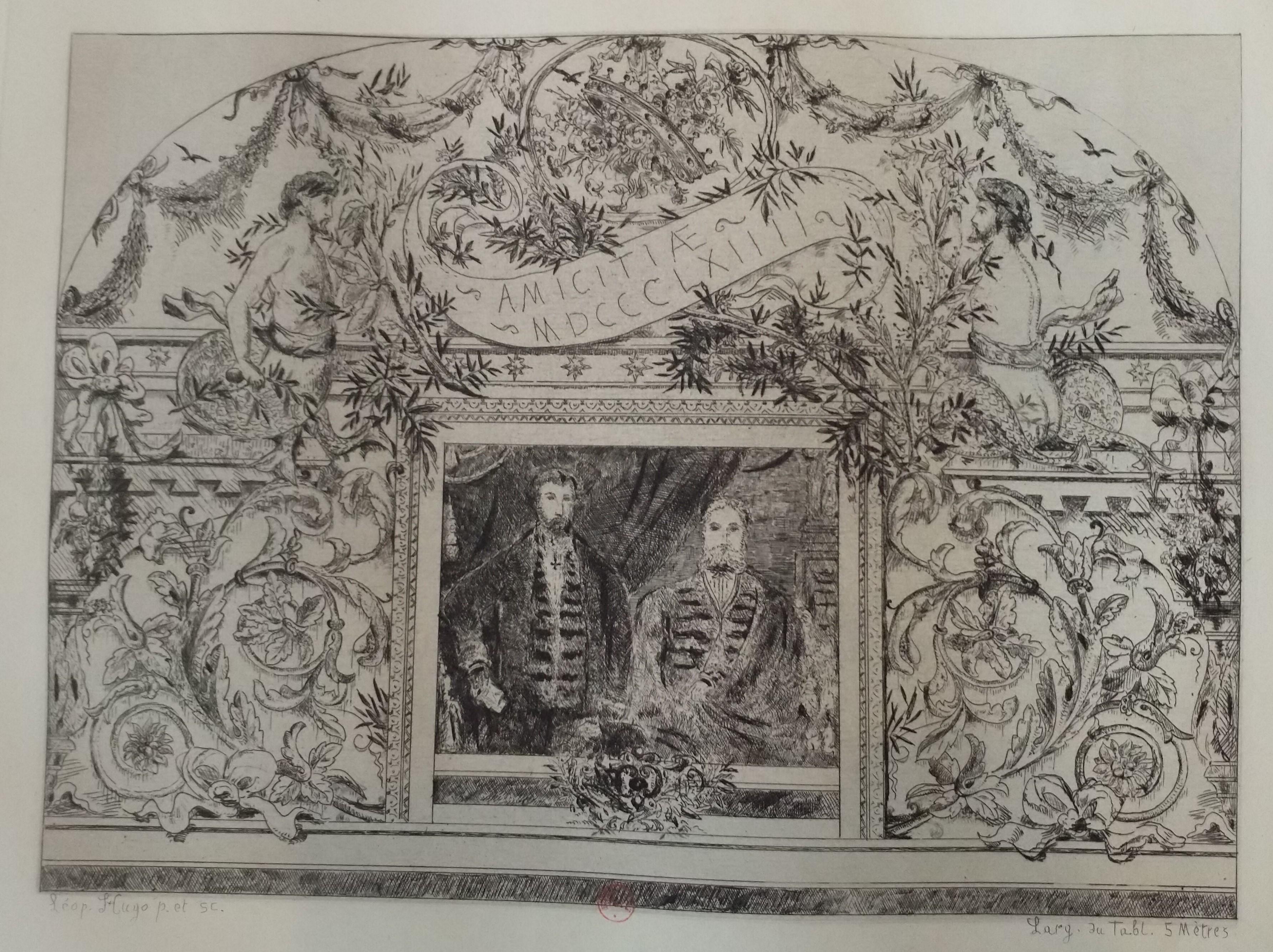 Leopold Armand Hugo BNF 1864 Amicitiae
