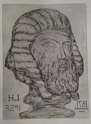 Leopold Armand Hugo BNF 1871 Autoportrait en sphinx
