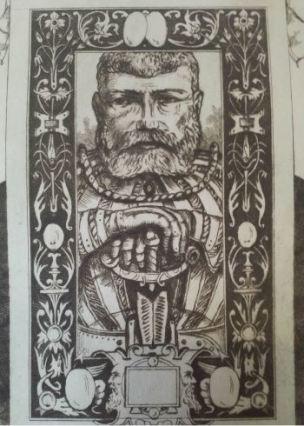 Leopold Armand Hugo BNF Ermite et ritter detail 3
