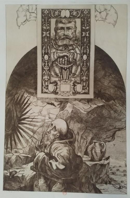 Leopold Armand Hugo BNF Ermite et ritter