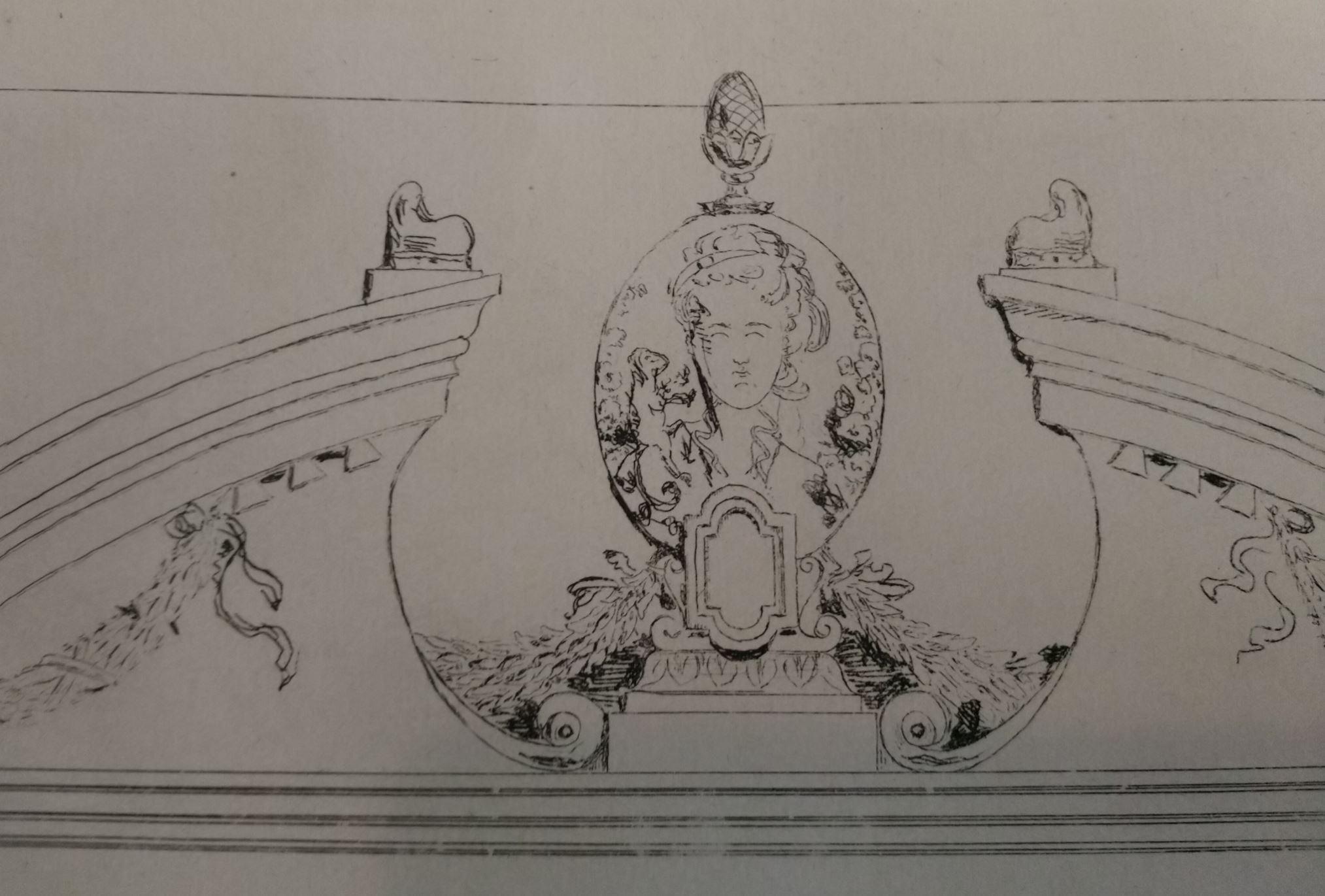 Leopold Armand Hugo BNF Facade de meuble detail 1
