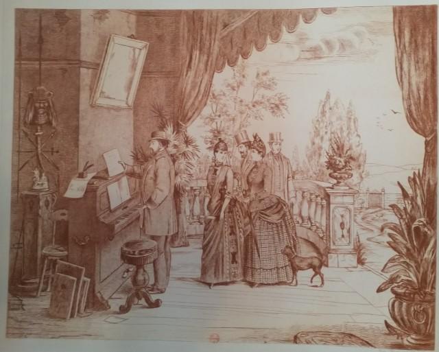 Leopold Armand Hugo BNF Le piano