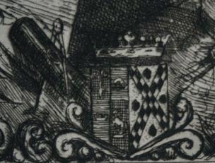 Leopold Hugo pendant venitien 1861 armoiries