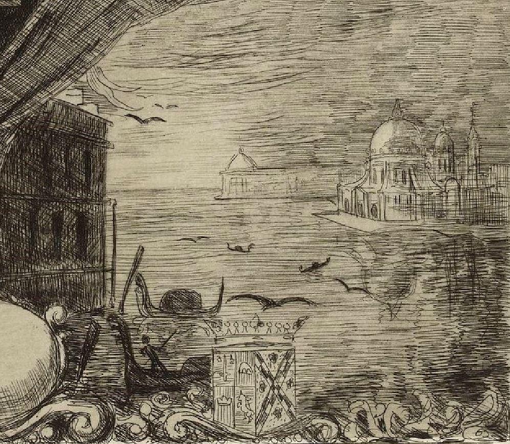 Leopold Hugo pendant venitien 1883 Venise
