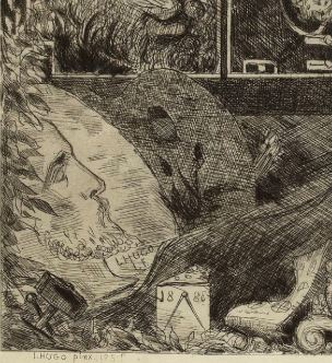Leopold Hugo pendant venitien 1883 medaillon