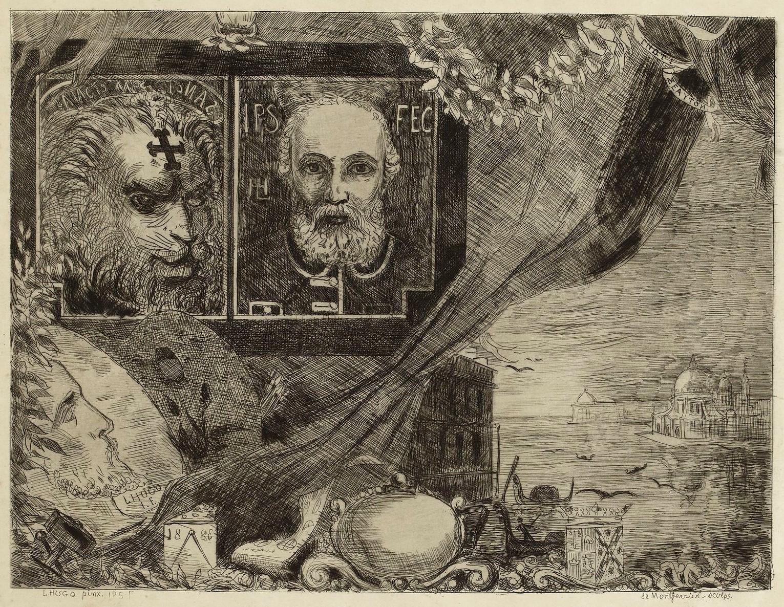 Leopold Hugo pendant venitien 1883