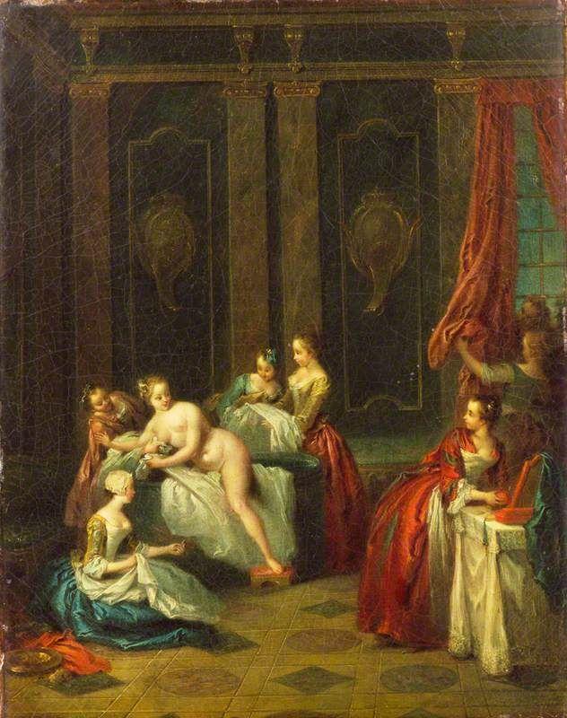 Pater A41b The Bath (Le plaisir de l'ete), Wallace Collection