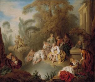 Pater A50a Pater Les baigneuses Nelson Atkins Museum of Arts