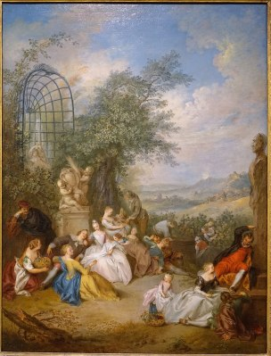 Pater A51a Fete_Champetre_Durant les vendanges 1730-1733,Dallas_Museum_of_Art_