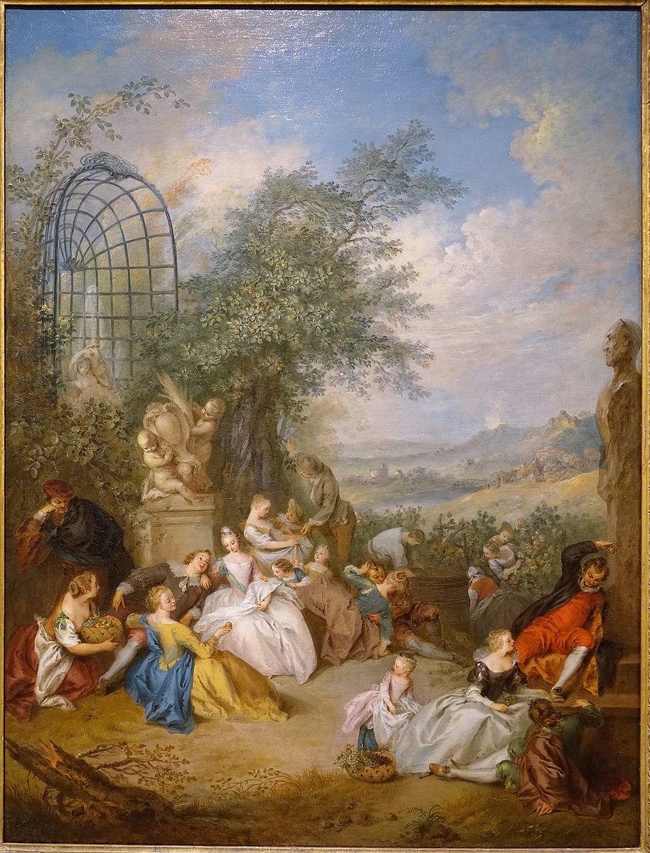 Pater A51a Fete_Champetre_Durant les vendanges 1730-1733,Dallas_Museum_of_Art_