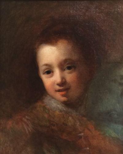 Portrait de Leopold , Julie Duvidal, Musee Vivenel, Compiegne