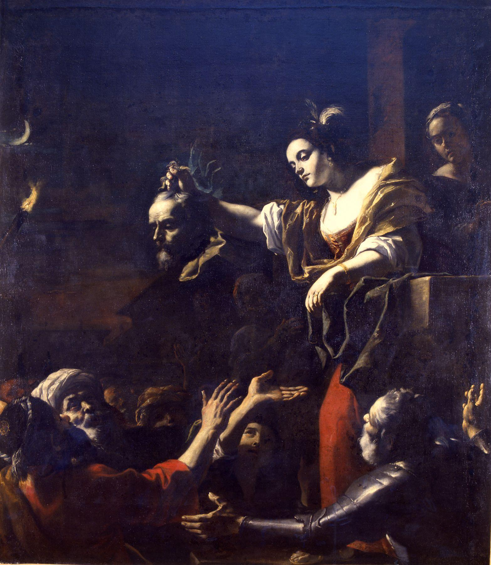 Preti 1651-1661 Judith montrant la tete d Holopherne Musee de Chambery