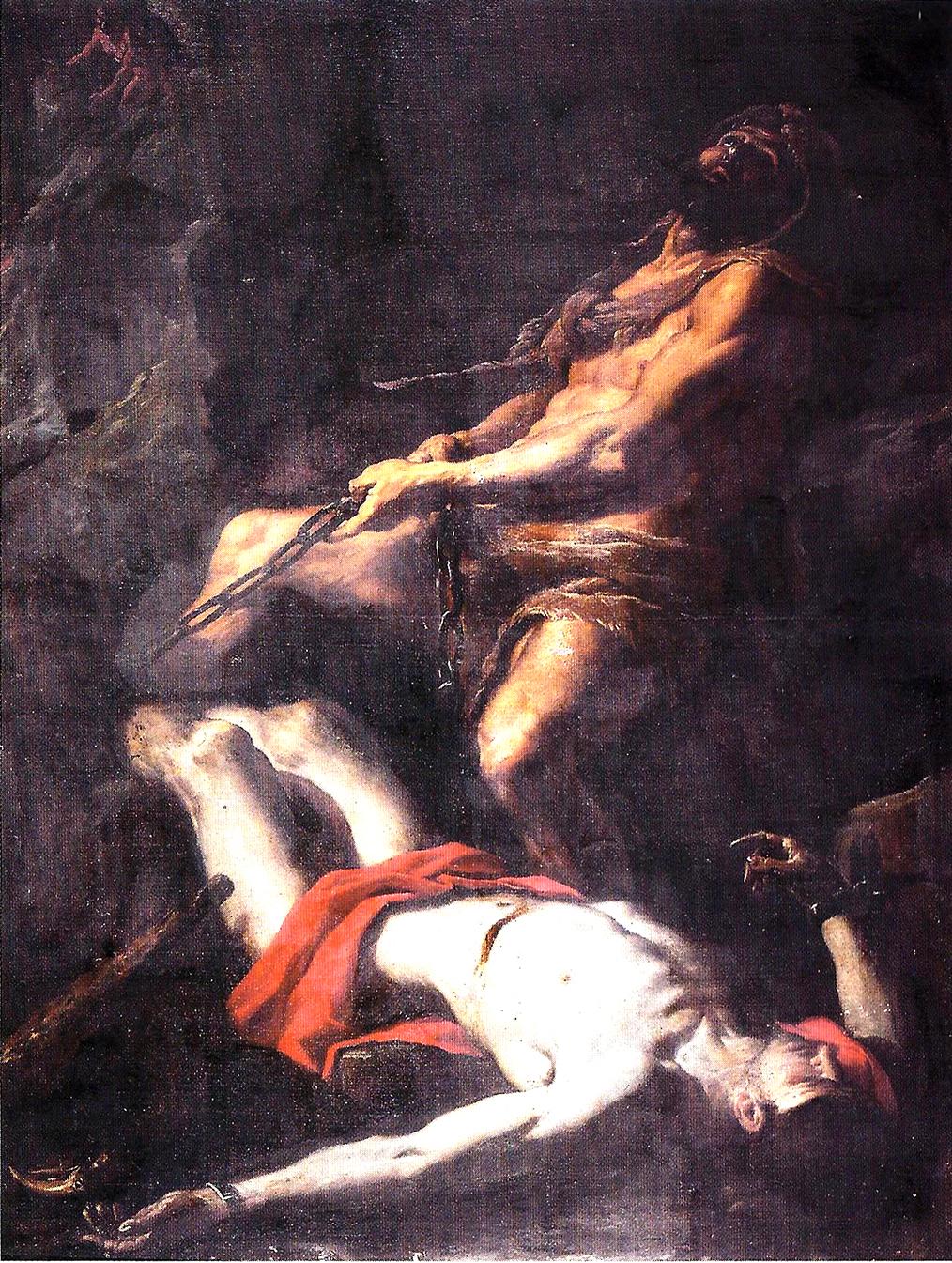 Preti 1656 – 1660 Hercule libere promethee Palazzo Arnone Cosenza