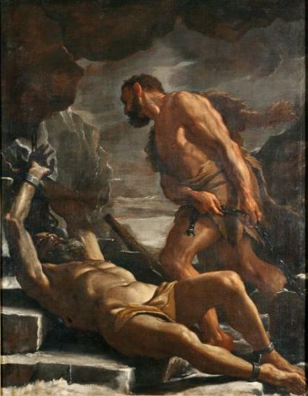 Preti 1656 – 1660 Hercule libere thesee Palazzo Arnone Cosenza