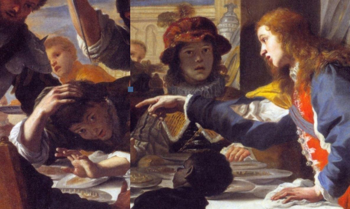 Preti 1670 ca Festin d'Absalon Ottawa schema