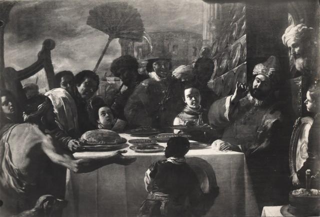 Preti 1670 ca Parabole de Lazare et du riche localisation inconnue