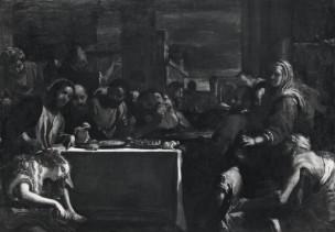 Preti 1676 ca Cena in casa di Simone il fariseo Chiesa di San Domenico Maggiore Napoli